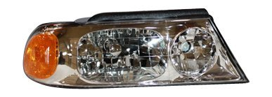 TYC 20-5877-00 Lincoln Navigator Passenger Side Headlight Assembly by (Lincoln Navigator Fari)
