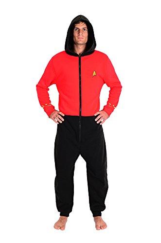 Star Trek The Original Series Scotty Red Lounger Onesie