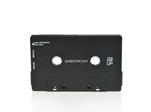 Kassette Bluetooth-adapter (DIGITNOW! Audio Bluetooth Cassette Adapter Wiederaufladbarer Bluetooth Musikempfänger für alle Kassettendecks)