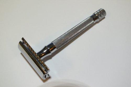Merkur Rasierhobel 23C, langer Griff -