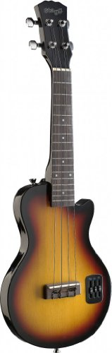 Stagg 25017602 EUK S-SB Sunburst Electric S Ukulele