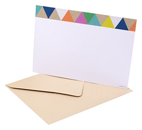 Hallmark Blank Note Cards with Envelopes (Stationery Box Set of 50 Blank Cards)