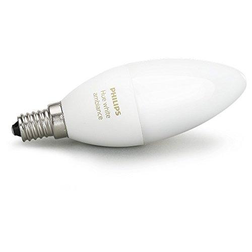 Philips Hue White Ambiance LED E14 6W ZigBee Echo Alexa kompatibel