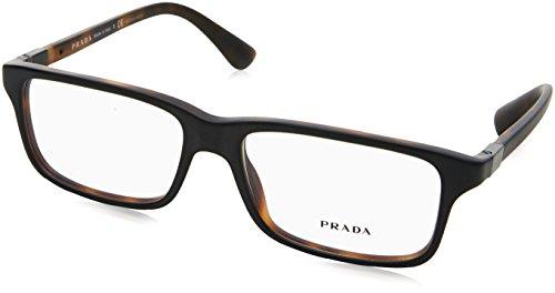 Prada Für Mann 06s Black / Matte Tortoise Kunststoffgestell Brillen, 56mm