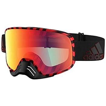 ADIDAS Brille Skibrille Googles ad84 BACKLAND Dirt Black red