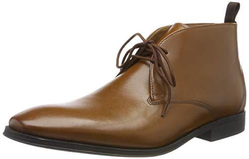 Clarks Herren Gilman Mid Klassische Stiefel, Braun Dark Tan Lea, 47 EU -