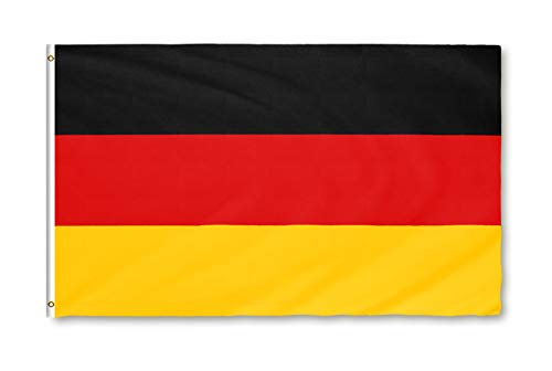 Star Cluster 90 x 150 cm Deutschland Flagge/Deutsche Fahne/Bundesflagge/Fanartikel/Germany National Flag (DE Gelb 90 x 150 cm)