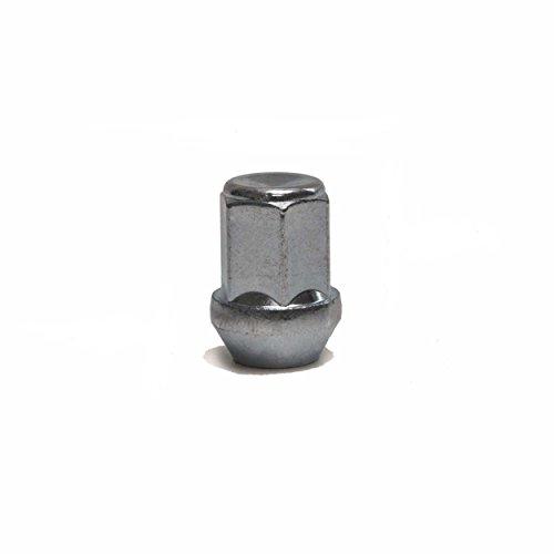 20 RADMUTTERNSATZ Kegelbund Radmuttern für Leichtmetallfelgen Alufelgen passend für MAVERICK/CIVIC VIII Stufenheck (FD,FA) / H-1/STAREX/NIVA (2121) / 350 Z (Z33) 370 Z (Z34) / KOLEOS (HY_)