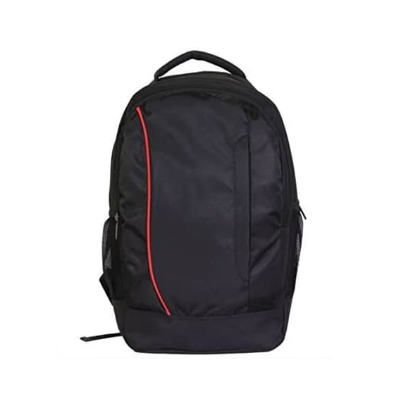 Generic Unisex Black Polyester Backpack For Hp Dell Lenovo Acer Toshiba 13 15 15.6 Inch Laptops