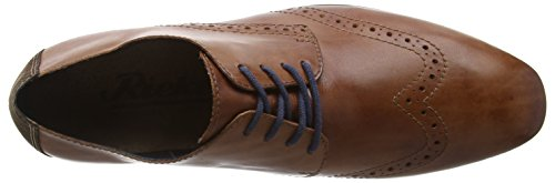Rieker 11310-25, Brogues homme Marron - Brown (Brandy/Cigar)
