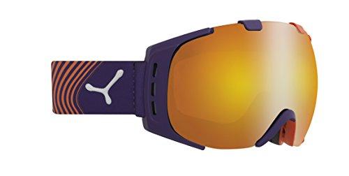 Cébé Skibrille Origins Flash Fire Orange/Violett, M