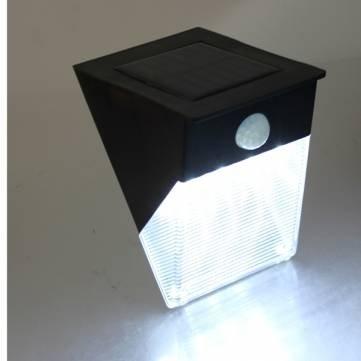 Confezione con 7, 12 giorni] Power Solar Motion sensore di movimento da parete-Runner da giardino corte Porta lampada con 12 LED/12/LED Power Solar Motion Sensor PIR Garden Path Yard Door Wall Lamp - Giorno Runner