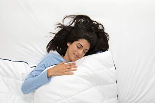 SOMNOS Therapiebettdecke Gewichtsdecke, Schwere Decke für Erwachsene für besseren Schlaf Grösse - 135 x 200 cm, 9 Kg. - 2
