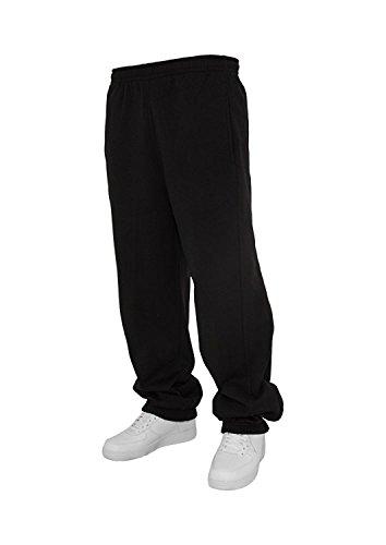 Urban Classics Jogginghose Sweatpants Trainingshose Tanzhose blanko zum Bedrucken Blank schwarz grau dunkelgrau charcoal S bis 5XL Farben Männer Herren Sporthose Fitnesshose Dance Hose (XXL, schwarz) Dance Hoody