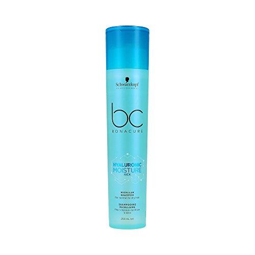 Schwarzkopf BC Bonacure Hyaluronic Moisture Kick Shampoo 250 ml Spendet Feuchtigkeit & mehr Glanz