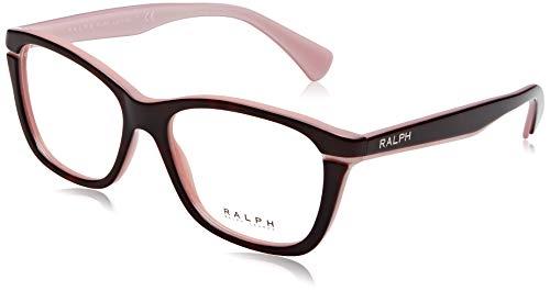 Ralph 0Ra7090 Dark Tortoise/Oink, 53 Brillenträger für Damen