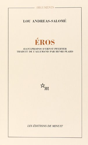 EROS par Lou Andreas-Salomé