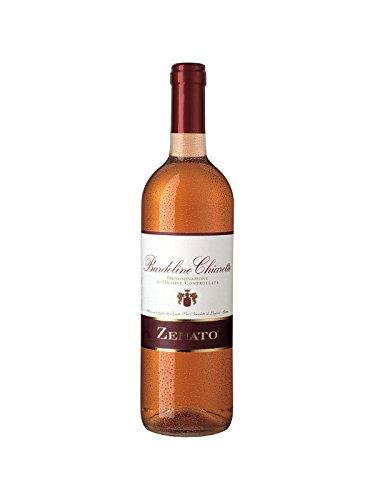 Bardolino Chiaretto DOC - italienischer Rosewein aus Venetien von Zenato 0, 75 l