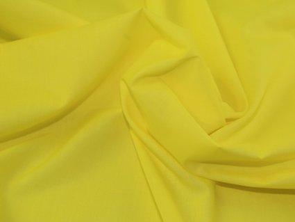 1, 2 m, gelb, Polyester-Baumwoll-Popeline Japanische Qkt 4000 Baumwoll-Polyester-Material, helles Gelb Farbe, Schneidern und Hemden, aus Stoff, Meterware, Preis pro 1/2 Meter (Fat Quarter Woven)