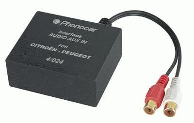 Phonocar 04024interfaz conexión CD Changer Mini Iso- RCA Citroen ></noscript> '06xara-picasso-c5-c3Peugeot 206–406–307