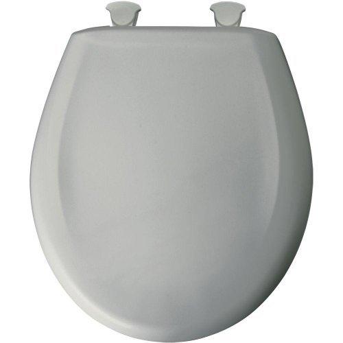 Bemis 200SLOWT 062Toilettensitz, rund geschlossen Front WC-Sitz, Ice Grau von Bemis