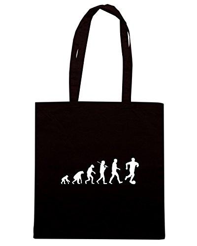 T-Shirtshock - Borsa Shopping OLDENG00653 soccer evolution Nero