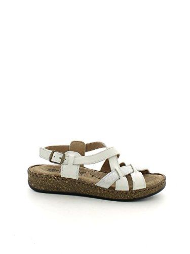Sandalo bianco incrociato con glitter N. 35