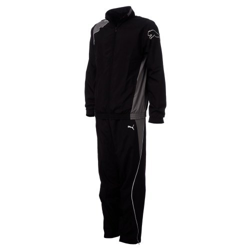 Puma Trainingsanzug PUMA United Woven Suit black-steel grey-white, Größe Puma:XS -