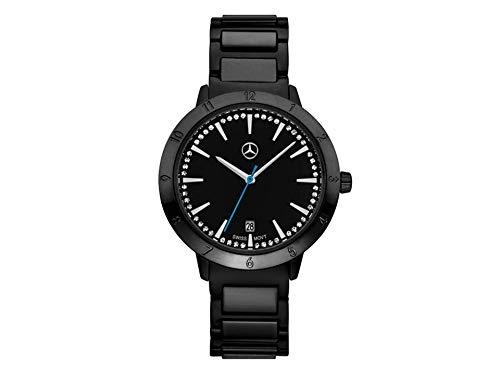 Mercedes-Benz Reloj de pulsera, señora, Black Edition Negro / Azul, A