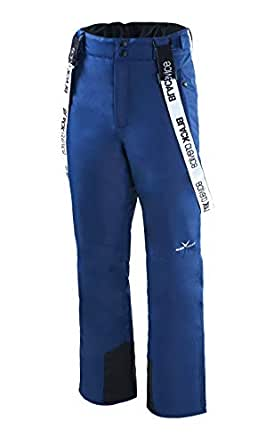 Black Crevice–Pantaloni da sci da uomo, Uomo, BCR251001-NA-52, blu navy, 52