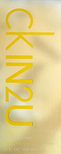 Calvin Klein CK IN2U for her, Eau de Toilette, 1er Pack (1 x 150 ml)