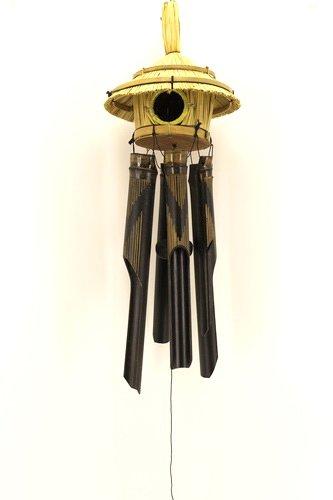Windspiel | Bambus Klangspiel | Vogelhaus | Ciffre