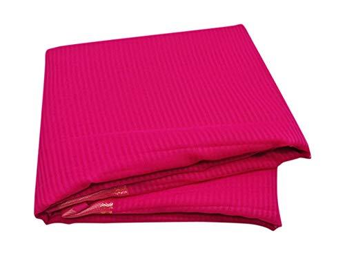 PEEGLI Indische Traditionelle Frauen Vintage Saree Gewebt Designer Georgette Synthetischen Stoff DIY Tuch Kunst Dekor Rosa Ethnischen Saree -