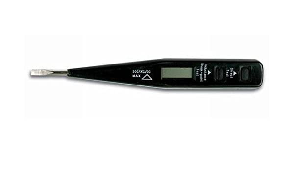 Perel EVT04 Digital Voltage Tester with LCD