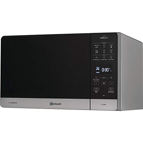 Bauknecht Chef Plus MW 49 SL/ 5in1-Multifunktionsmikrowelle /900 W/25 L Garraum/Heißluft 1700 - Microwave Grill And