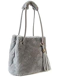 qualità incredibile vari design bellissimo aspetto Amazon.it: pelliccia - Borse: Scarpe e borse