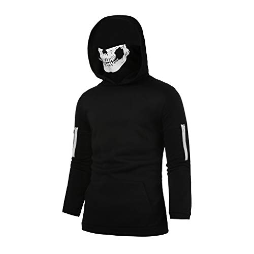ae0ae70c331db Harley davidson skull hoodies the best Amazon price in SaveMoney.es