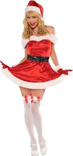 Amscan Damen Party-Kostüm für Weihnachtsparty