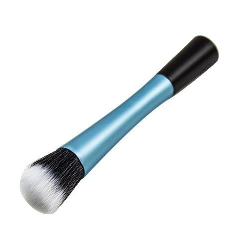 Blush Poudre Cosmétique Pointillé Pinceau Fond De Teint Outil De Maquillage Bleu Modèle1053