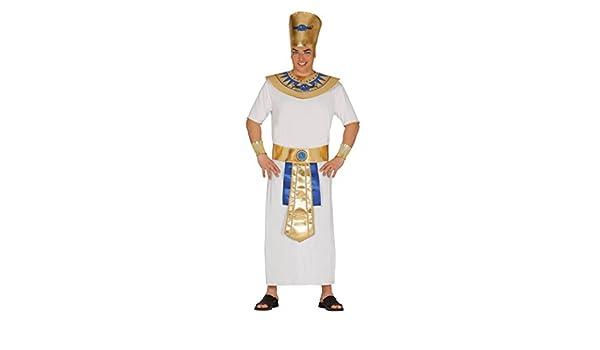 Fiestas Guirca Costume Faraone Egiziano Uomo  Amazon.it  Sport e tempo  libero 41c15f8e81f
