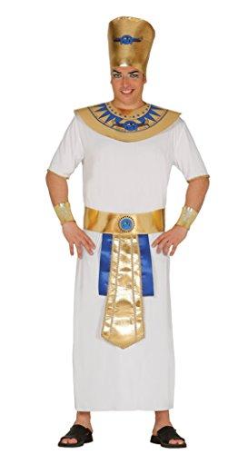 Fiestas Guirca Kostüm für Erwachsene ägyptischer Pharao (König Pharao Kostüm)