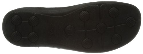 Clarks Nature Three, Chaussons homme Noir (Black Leather)