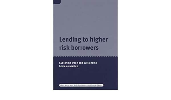 The role of subprime lending