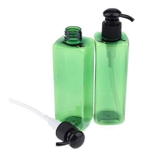 Perfeclan 2 Stk Pumpflasche Sprühflasche Sprayer Flasche für Creme Lotion Shampoo, Flüssigseifen...