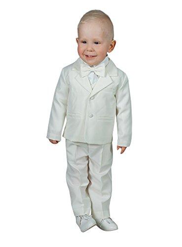 Jungen Für Frankreich Kostüm - Boutique-Magique Kostüm Jungen Baby ecru 5teilig Hochzeit Taufe-Produkt Gespeichert und verschickt Schnell seit Frankreich Gr. 86, Ivoire - Ecru