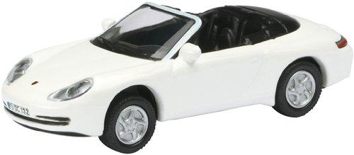 Schuco 452571800 - Porsche 911 Cabrio 1:87, weiß