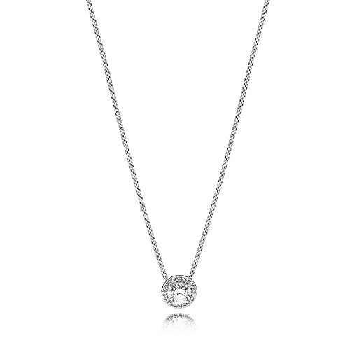 Pandora Collar con colgante Mujer plata -...