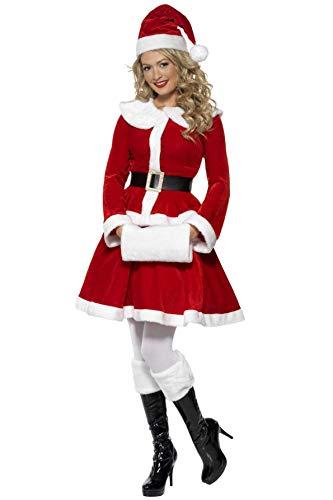 Smiffys Costume Miss Santa, Taglia XL
