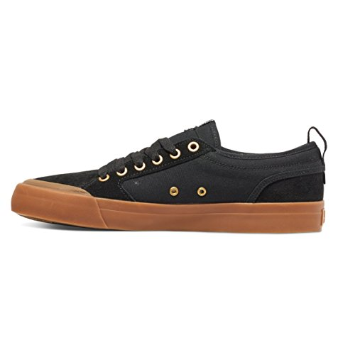 DC alevros - Evan Smith S Low Top senza tempo a forma di scarpa Black/gum