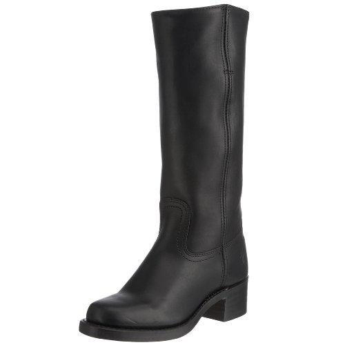 Frye Campus 14L, Boots femme cuir noir